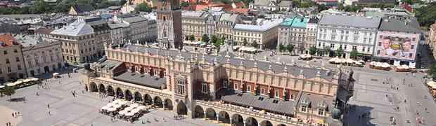 La plaza principal de Cracovia, elegida como la número 1 del mundo
