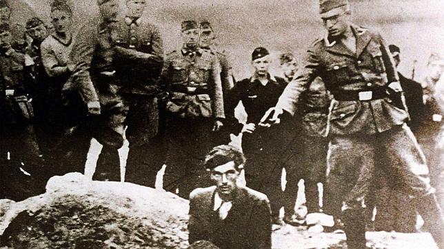 Judío ucraniano asesinado por nazi