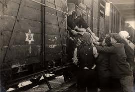 Judíos de Monastir conducidos a Treblinka