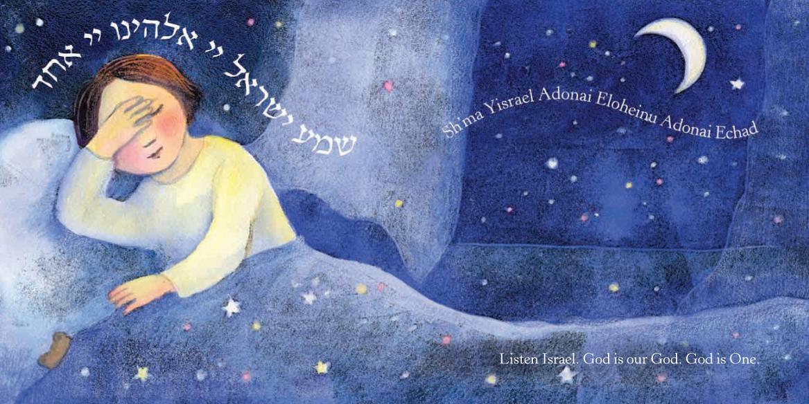 Niño rezando el Shma