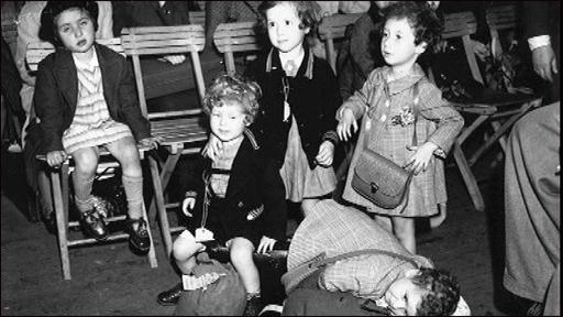 Niños judíos en la Shoá