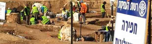 En Tel Aviv se ha descubierto un pozo bizantino
