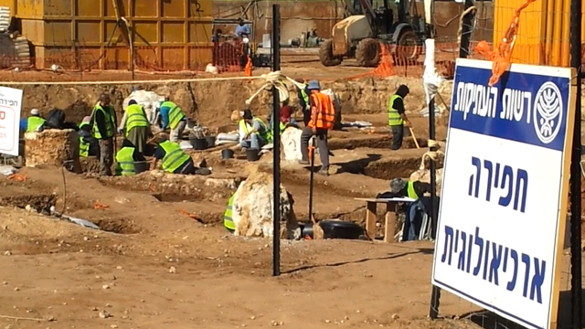 Excavación fuente bizantina
