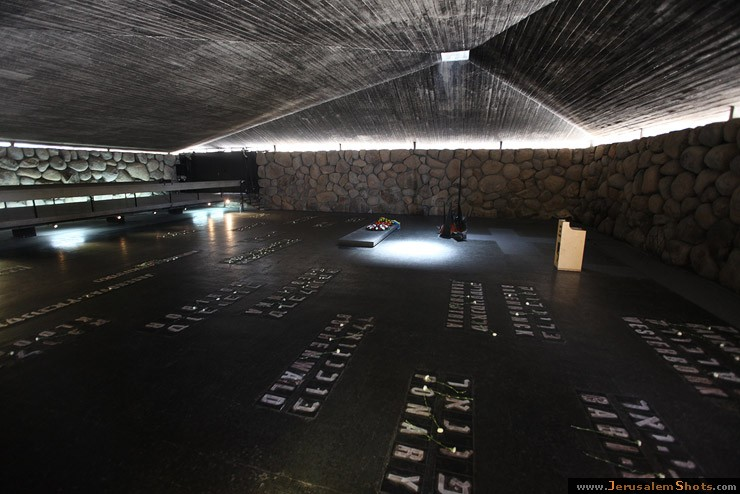 Yad Vashem, fuego eterno
