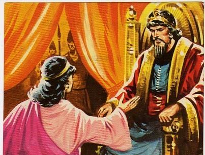 Esther y Ajashverosh