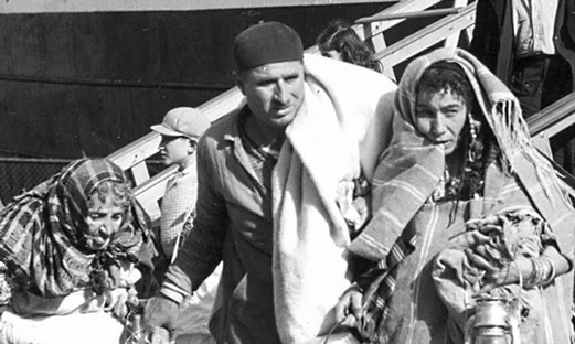 Refugiados judíos procedentes de países árabes