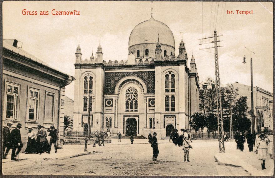 Sinagoga en Czernowitz