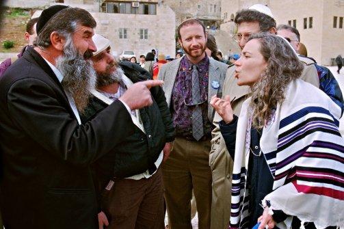 Judíos debatiendo