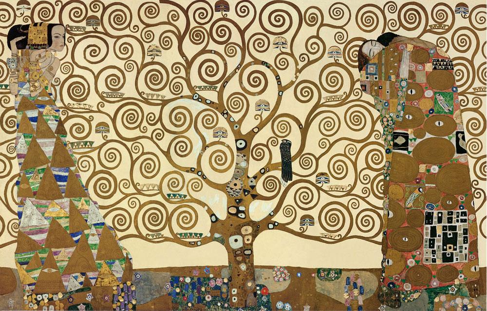 El árbol de la vida Gustav Klimt